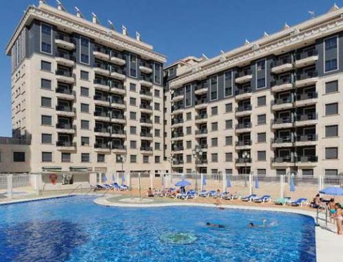 2 rumslägenhet Apartamentos Nuria Sol*** Los Boliches-Fuengirola, SydSpanien. Valfri reslängd 1/11 2019 – 31/3 2020