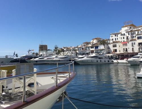 Lägenhet m. halvp. Pyr Marbella Hotel***+, Puerto Banus. Valfri reslängd 20/11-1/5 2020.